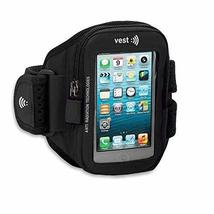 Vest Anti-Radiation Arm Pack Sports band up to 5.5? (Black)