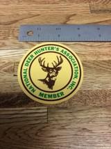 VINTAGE NATIONAL DEER HUNTER'S ASSOCIATION MEMBER DECAL NEW OLD STOCK T-... - $24.74