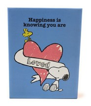 Graphique Snoopy Happiness Is Blank Notecard Set 20 Love Nom Beagle Hugs... - $16.36