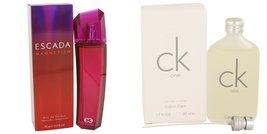 Gift set  Escada Magnetism by Escada Eau De Parfum Spray 2.5 oz And  CK ... - $65.95