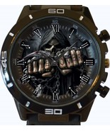 Gothic Gameover Skull New Gt Series Sports Unisex Gift Watch - $34.99
