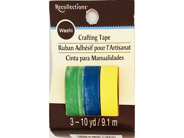 Recollections Washi Tape, 3 Rolls #268561