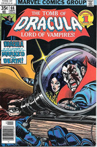 The Tomb of Dracula Comic Book #66, Marvel Comics 1978 VERY FINE - $14.98