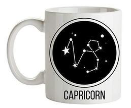 Capricorn Mug - Mountain Goat Constellation Horoscope Astrology Zodiac S... - £14.81 GBP