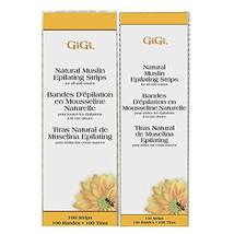GiGi Small & Large Muslin Strips 100 Ct Each, 200 Pack image 4