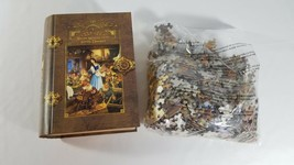 Masterpieces Snow White and the Seven Dwarfs Book Box 1000 Piece Puzzle - $16.93