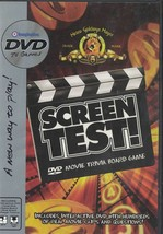 Screen Test DVD Movie Trivia Board Game Replacement DVD Only  Board not Included - $3.46