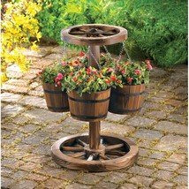 Wagon Wheel Planter - $99.95
