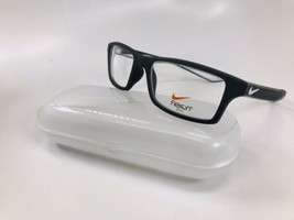 New NIKE 4281 080 Anthracite & Pure Platinum Eyeglasses 52mm with Case & Cloth - $74.20