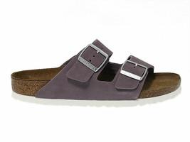 Flache Sandalen BIRKENSTOCK 1003733 in lavanda gämse - Schuhe Damen - $101.22