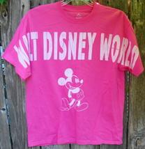 Walt Disney World Mickey Mouse Pink T-Shirt Size L - $15.00