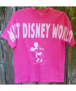 Walt Disney World Mickey Mouse Pink T-Shirt Size L - $15.00