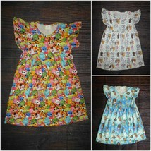 NEW Boutique Disney Characters Aristocats Moana Girls Sleeveless Pearl D... - $16.99