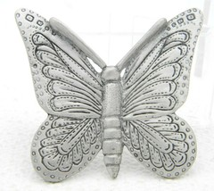 VTG Spoontiques Pewter Butterfly Large Brooch Pin #5761 - $19.80