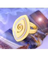 Haunted RING 27X SPECIAL SCHOLAR ENHANCED MONEY MAGNIFIER MAGICK WITCH C... - $77.77