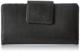Fossil Emma Tab Clutch Wallet Painted Floral Pvc - $56.10