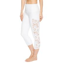 Onzie Bridal White Lace Stunner Capri Leggings Size M/L image 2