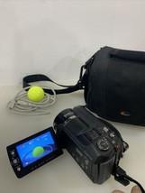 JVC Everio GZ-MG555U Camcorder Black HDD. Tested! + Bag & Remote - $92.74
