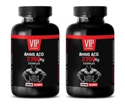 muscle mass builder for men - AMINO ACID 2200MG 2B - amino acids l-arginine - $33.62