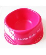 Hello Kitty Small Pet Puppy Cat Kitten Fuchsia Pink Water Food Bowl BW22... - $8.59