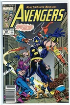 The Avengers #303 Copper Age Marvel Comic Captain America! Fantastic Fou... - $2.07