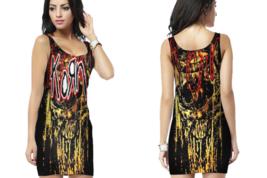 Korn  Womens Bodycon Sleeveless Short Mini Dress - $17.99+