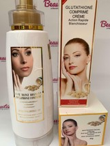 Glutathione Comprime Super Fort Whitening: Lotion, Face Cream and Tube - $101.74