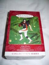 Hallmark Keepsake Ornament Football Legends John Elway - $10.88