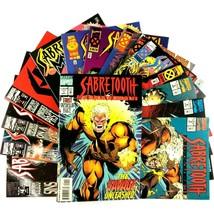 Sabretooth 15 Issue Comic Book Lot Marvel VF NM Wolverine Deathhunt Myst... - $39.55