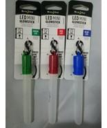 Set of 3 Nite Ize LED Mini Glowsticks Red Blue Green - $9.89