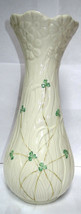 Belleek Daisy Vase Shamrock Pattern 8th Mark - $85.00