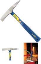 Hammer Welding Chipping Slag Removal Tool Shock Reduction Grip Forged Steel - $32.48