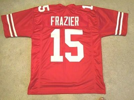 UNSIGNED CUSTOM Sewn Stitched Tommy Frazier Red Jersey - M, L, XL, 2XL - $33.99