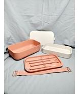 Our Place Layered Lunch Box w/Chopsticks, Knife, Spoon, Fork FabFitFun - $20.79