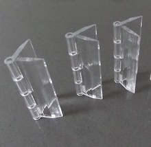 Pack of 3 Transparent Clear Plastic Acrylic 64mm Continuous Piano Hinge ... - $13.29