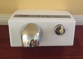 New NOVA Model 0110by Push Button Hand Dryer American Hotel Register Canada Made image 1