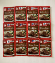 12 McCormick Onion Gravy Mix Spice Packet 0.87 Oz Each Best By: 04/22 & ... - $29.99