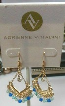 Adrienne Vittadini Gold-Tone Chandelier Drop/Dangle Hook Earrings - $13.99