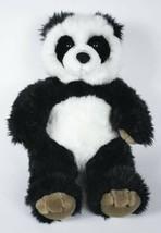 "BUILD A BEAR RETIRED 15"" BLACK & WHITE PANDA PLUSH STUFFED ANIMAL - $18.80"