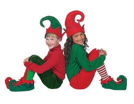Elf Shoes & Hat Costume Set (3 Piece Set) - $13.29
