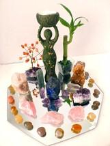 Green Nature Goddess Crystal Altar - $175.00
