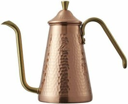 Copper Drip Coffee Pot Slim 700CU(700ml) kettle Kalita TSUBAME made#5220... - $237.37
