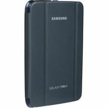 """Samsung Carrying Case (Book Fold) for 7"""" Galaxy Tab 3 - Gray - Synthetic Leather - $18.81"""