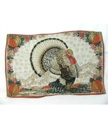 Park Designs Home for the Holidays Turkey Pumpkins 6-PC Fabric Placemats - $58.00