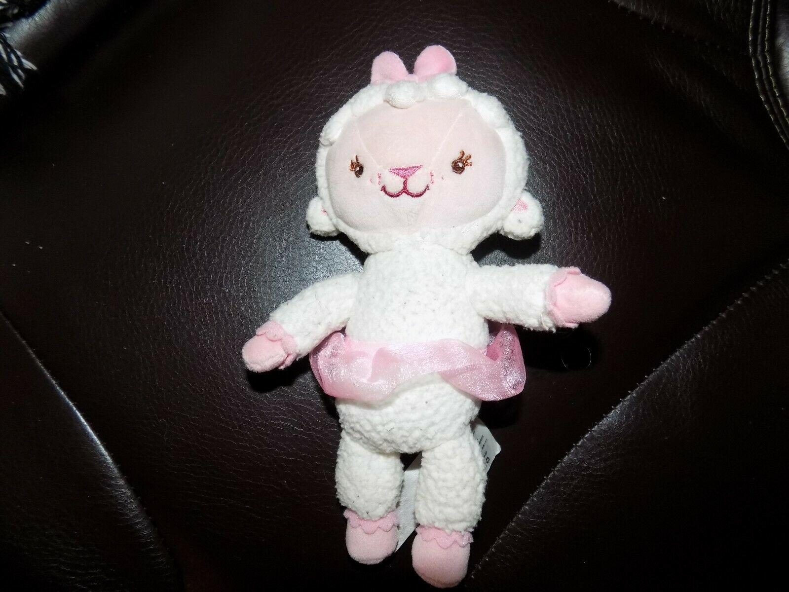 """Doc McStuffins Lambie Ballerina in Pink Tutu stuffed/plush - 8"""""""