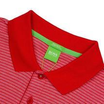 Hugo Boss Men's Luxury Cotton Polo Shirt T-shirt Regular Fit Paddos 50369736 610 image 3