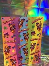 SALE⚡️S246  Lisa Frank Hollywood Bear Classic Sticker Sheet Full image 2
