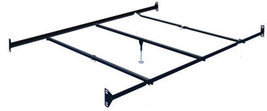 Queen Size BOLT ON Bed Frame Rails with 3 Cross Beams and one leg at cen... - $58.41