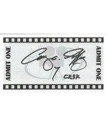 Cary Guffey Signed 3x5.5 Card Close Encounters of the Third Kind CE3K In... - $39.59