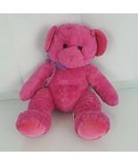 "Russ Berrie Venus Stuffed Plush Fuchsia Hot Pink Teddy Bear 10"" 14"" - $79.19"